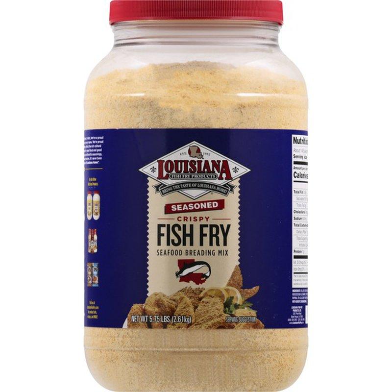 Louisiana Fish Fry Products Seafood Breading Mix, Fish Fry ...