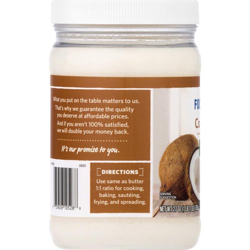 Food Lion Refined Coconut Oil