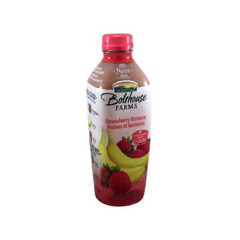 Naked Juice® Strawberry Banana 100% Juice Smoothie 15.2 fl