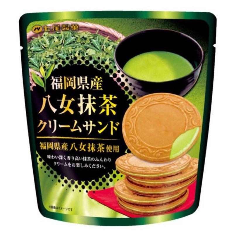 Nanao Matcha Tea Cream Cookie
