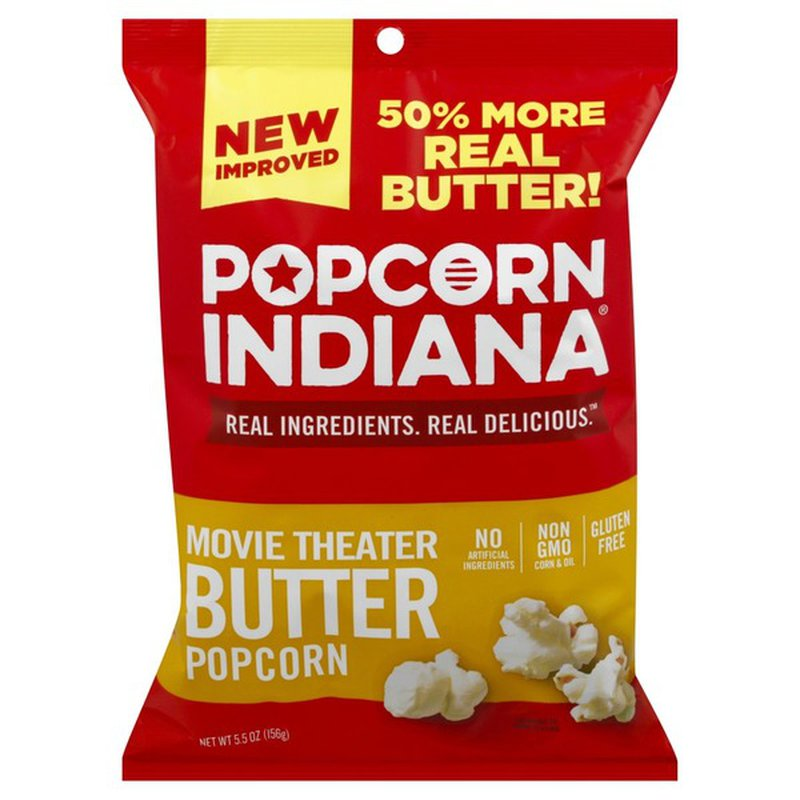 Popcorn Indiana Popcorn Movie Theater Butter 5 5 Oz Instacart