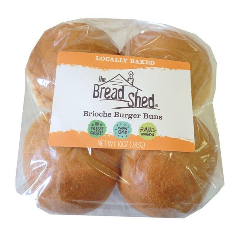 The Bread Shed Brioche Burger Buns