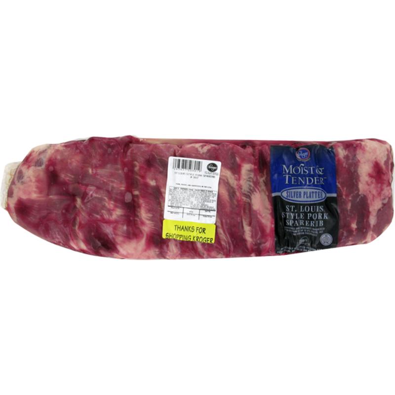 Moist & Tender Pork Saint Louis Style Ribs