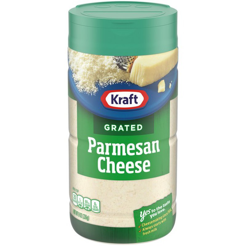 Kraft 100% Grated Parmesan Cheese