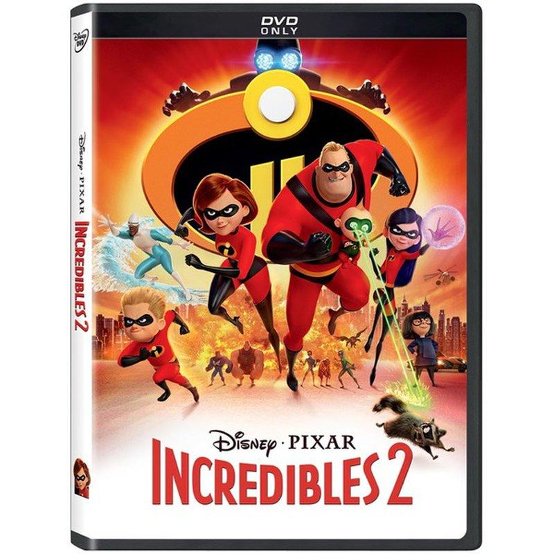 Buena Vista Home Entertaiment The Incredibles 2 DVD