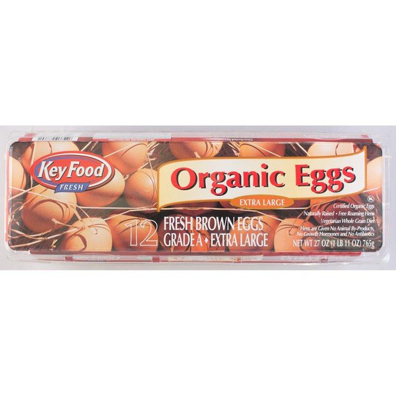 Key Food Grade Aa Extra Large Eggs
