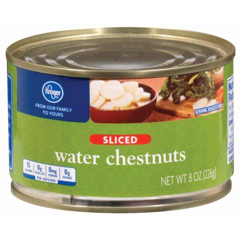 Kroger Sliced Water Chestnuts