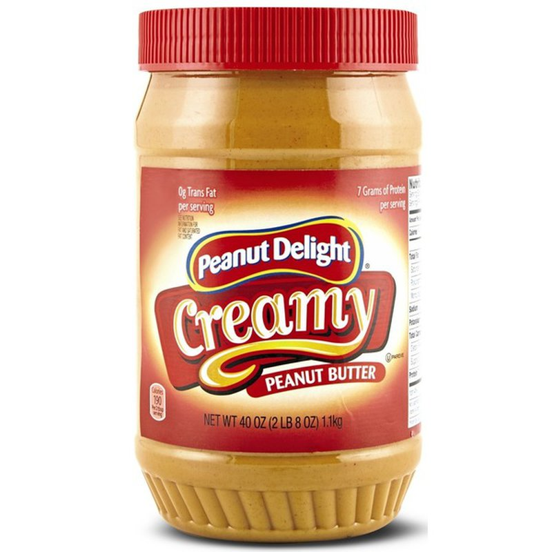 Peanut Delight Creamy Peanut Butter Spread