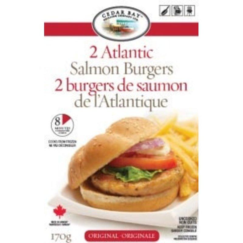 Cedar Bay Grilling Company Ltd. Atlantic Salmon Burgers