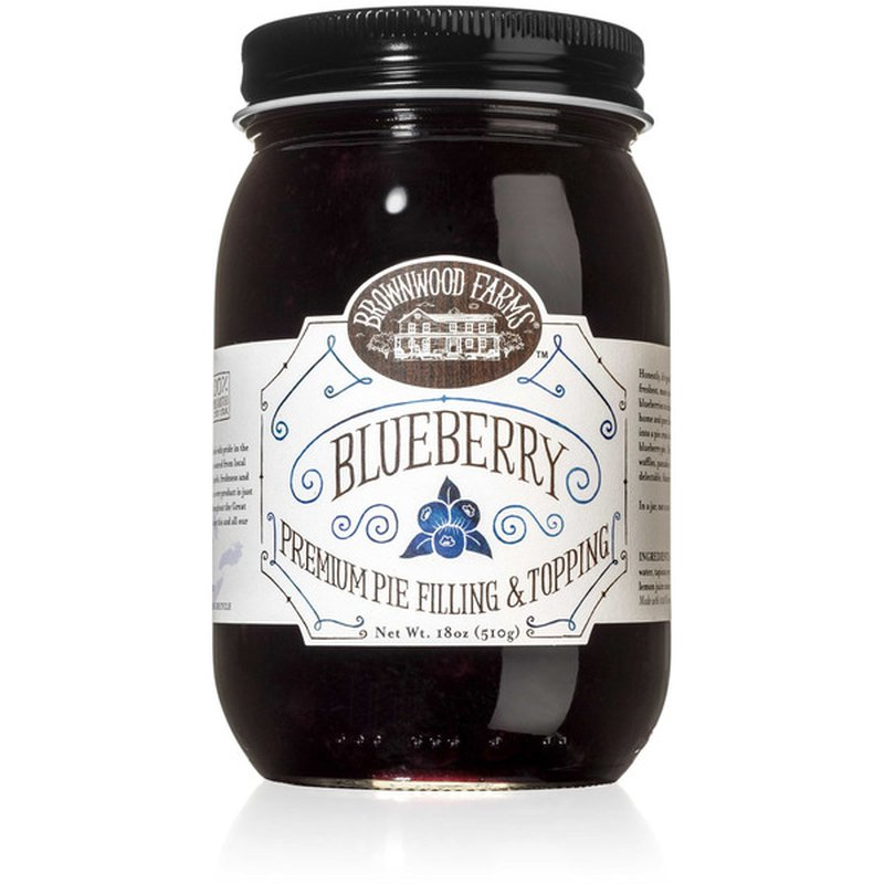 Brownwood Farms Blueberry Premium Pie Filling & Topping