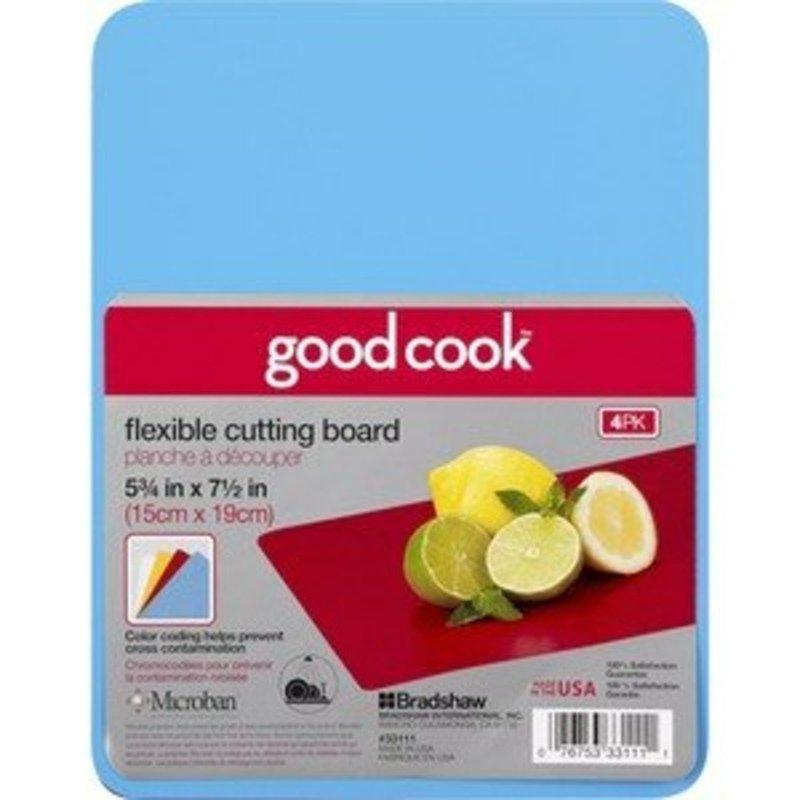 GoodCook Flexible Cutting Board, 4 Pack