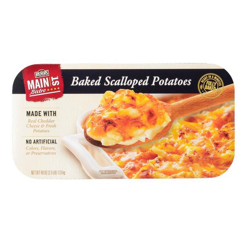 Reser's Main Street Bistro Scalloped Potatoes, 40 oz