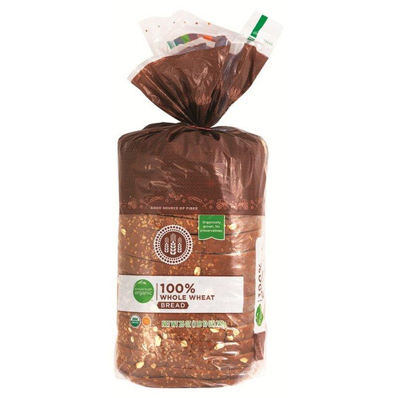 Simple Truth Organic 100% Whole Wheat Bread