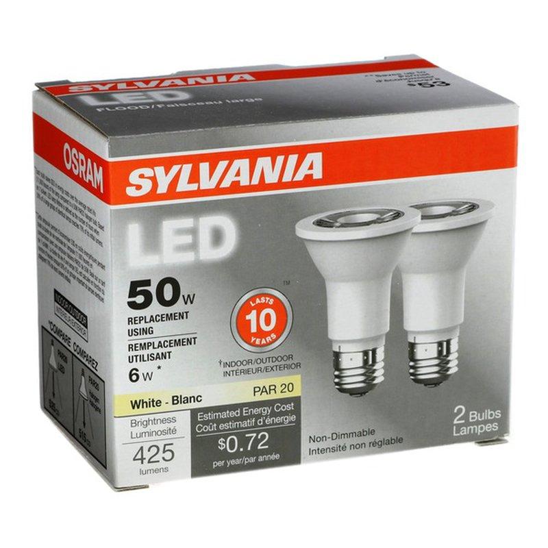 SYLVANIA 6 Watt LED Indoor & Outdoor Bulb