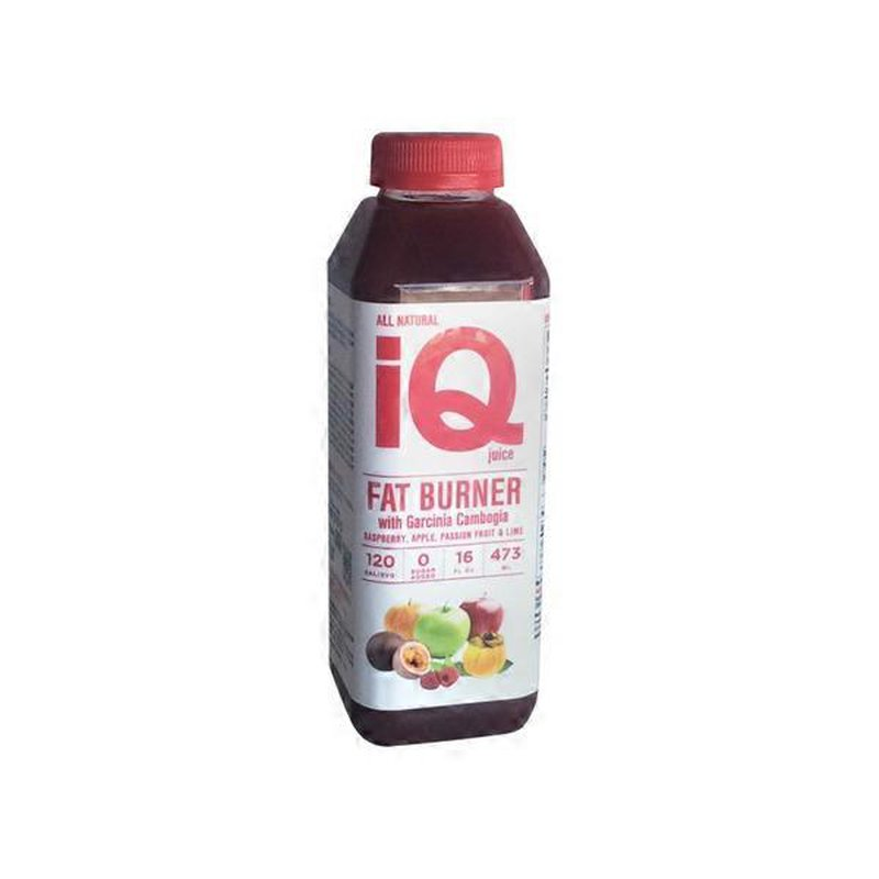 Iq Juice Fat Burner With Garcinia Cambogia 16 Fl Oz From Cvs