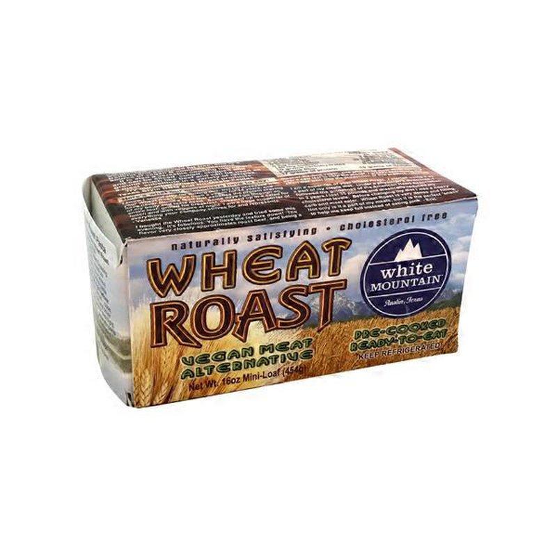 White Mountain Wheat Roast Vegan Meat Alternative