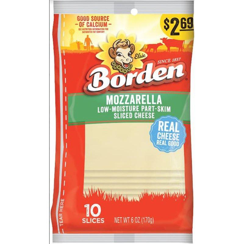 Borden Mozzarella Cheese