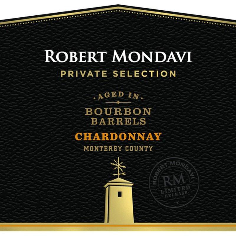 Robert Mondavi Private Selection Bourbon Barrel Aged Chardonnay White Wine