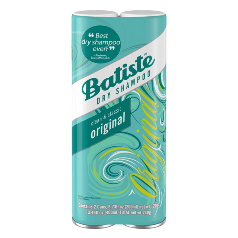 Batiste Dry Shampoo Original Fragrance 6 13 46 Oz Instacart