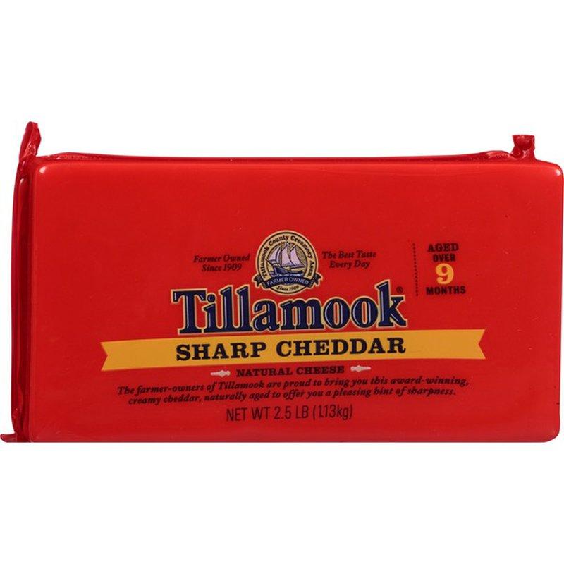 Tillamook Cheese, Sharp Cheddar (40 oz) from Costco ...