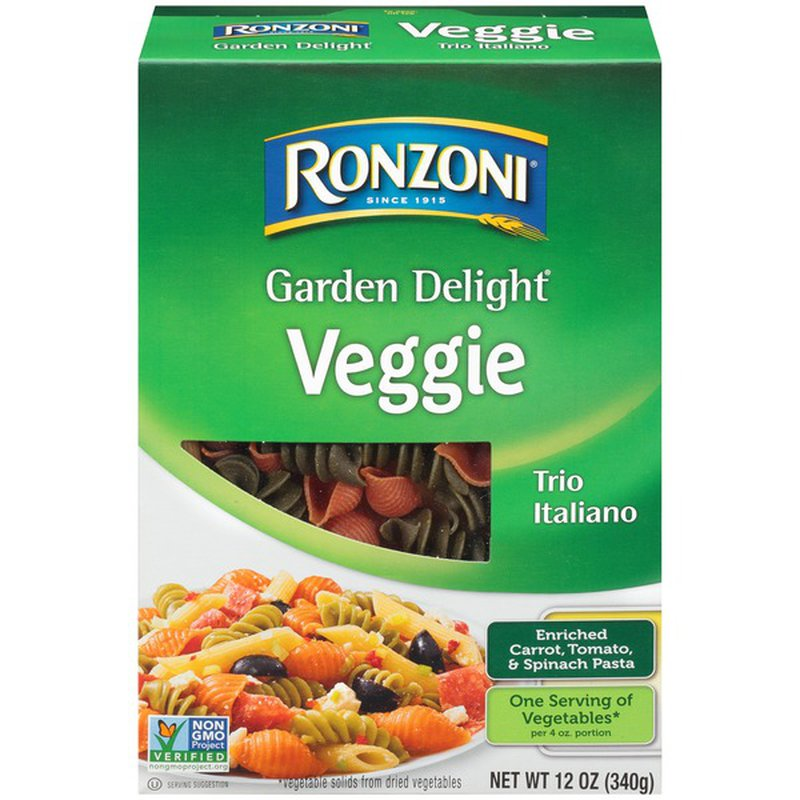 Ronzoni Garden Delight Veggie Trio Italiano