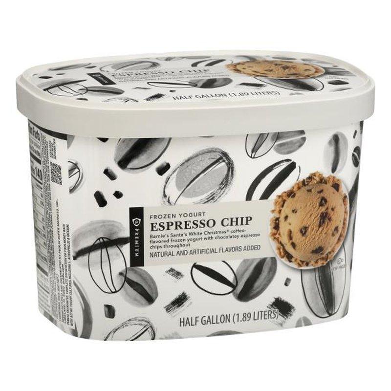 Publix Premium Espresso Chip Frozen Yogurt 1 2 Gal Instacart