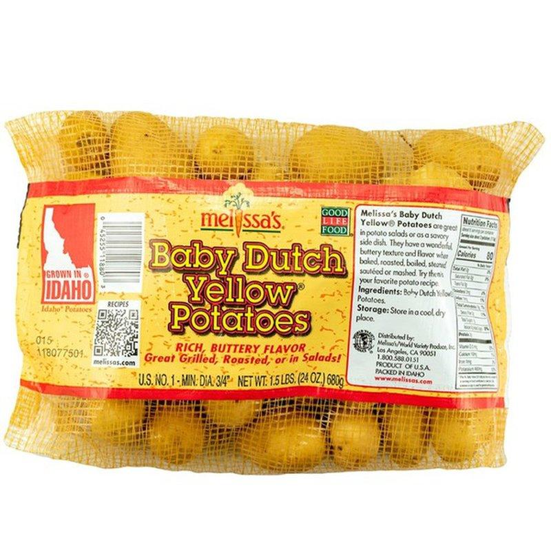 Melissa's Baby Dutch Yellow Potatoes, Bag (24 oz bag) from ...