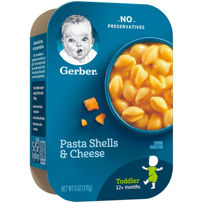 Gerber Pasta Shells and Cheese