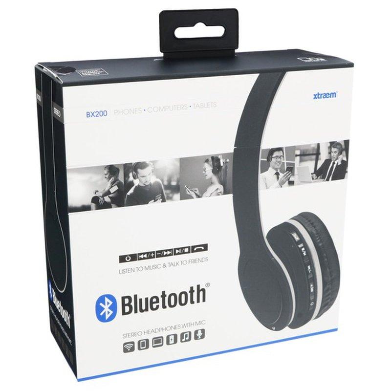 Sentry Pro Black Bluetooth Headphone