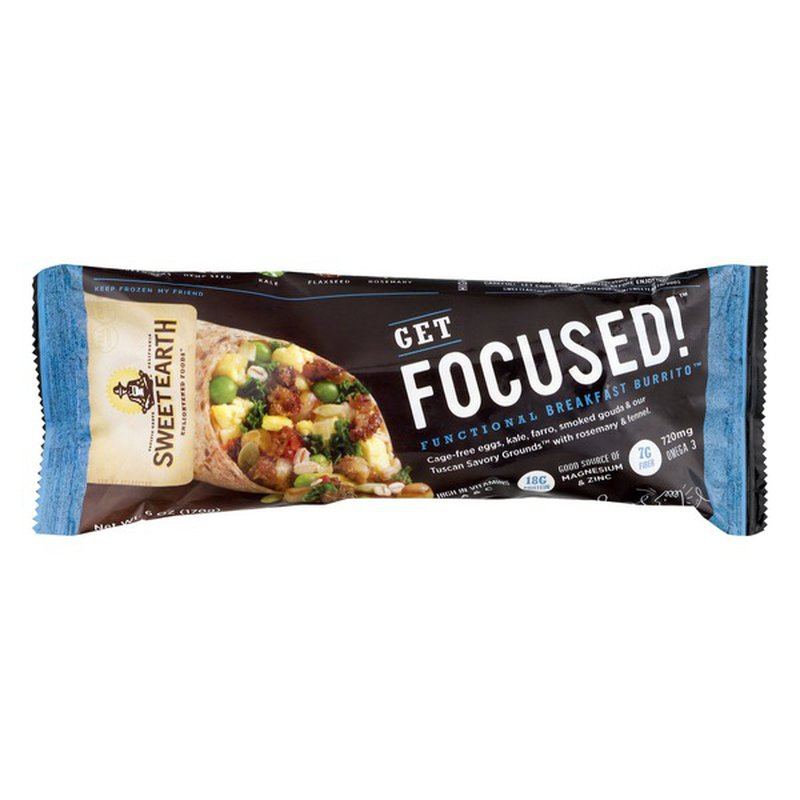 Sweet Earth Get Focused! Functional Breakfast Burrito