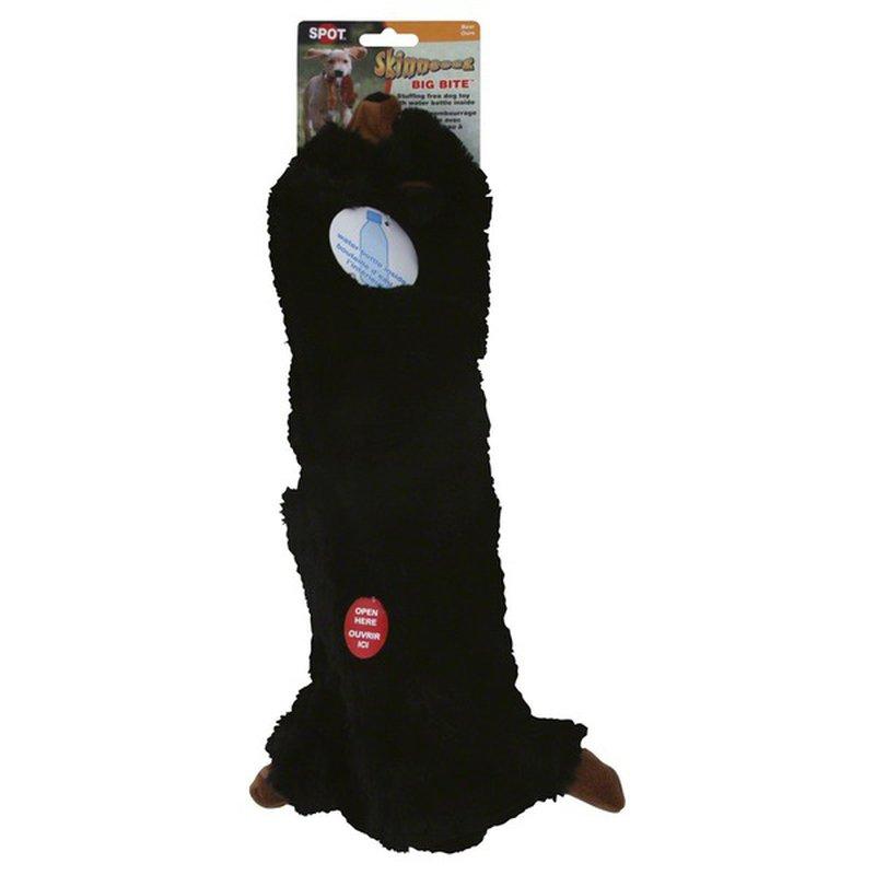 SPOT Skinneeez Big Bite Bear Dog Toy