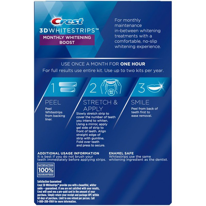 Crest 3d Teeth Whitening Kit 24 Ct Instacart