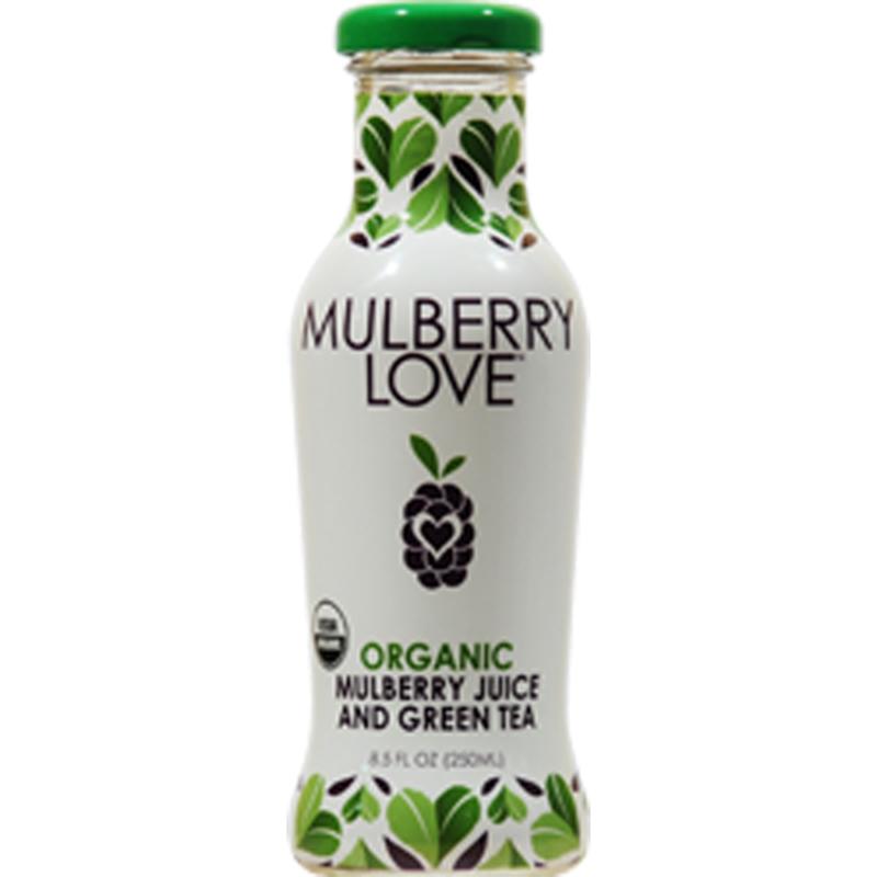 Mulberry Love Organic Mulberry Juice & Green Tea