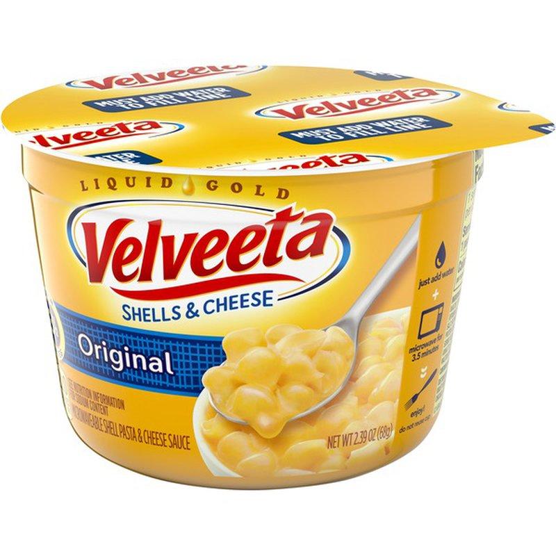 Kraft Velveeta Original Shells & Cheese (2.39 oz) from ...