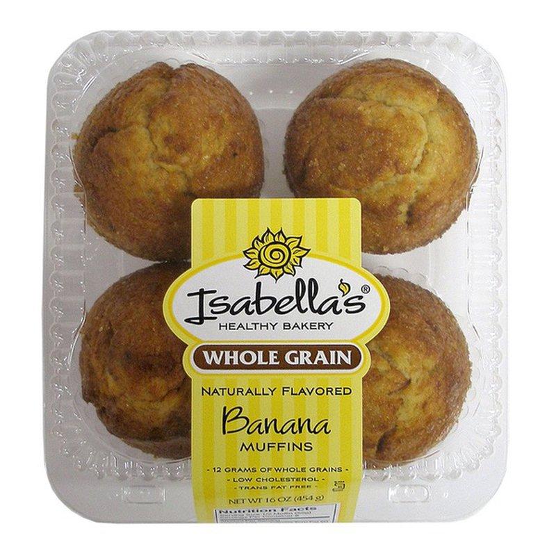 Isa Whole Grain Banana Muffin