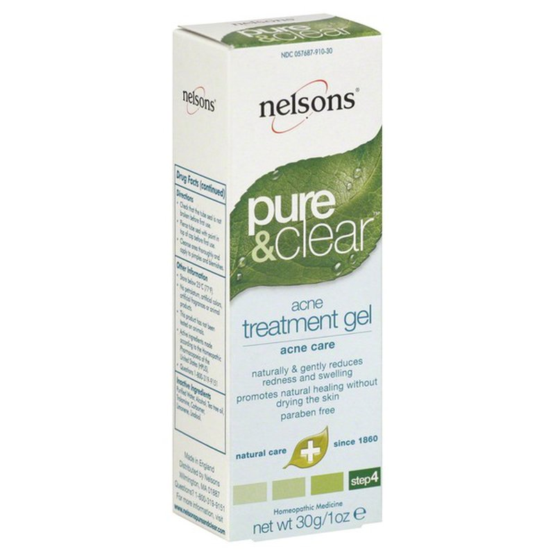 Nelson Bach Pure & Clear Acne Treatment Gel