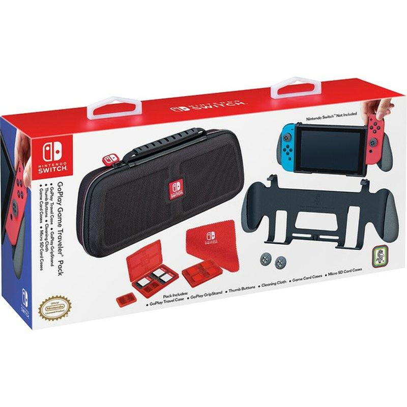 RDS Industries u2122 GoPlay Game Traveler Pack for Nintendo Switch