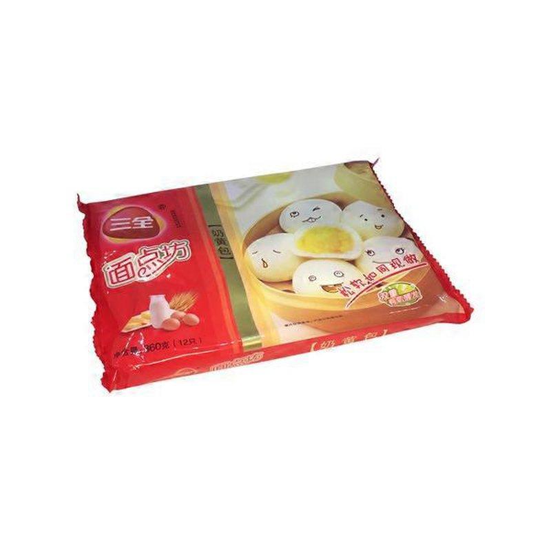SanQuan Custard Steamed Buns