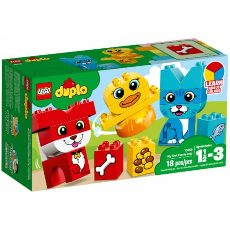 LEGO 18 Piece Duplo My First Puzzle Pets Set