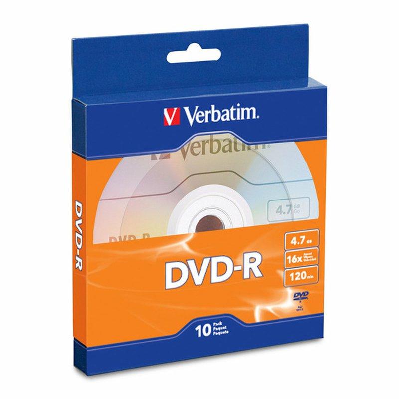 Verbatim Dvd R 4.7 Gb 16 X