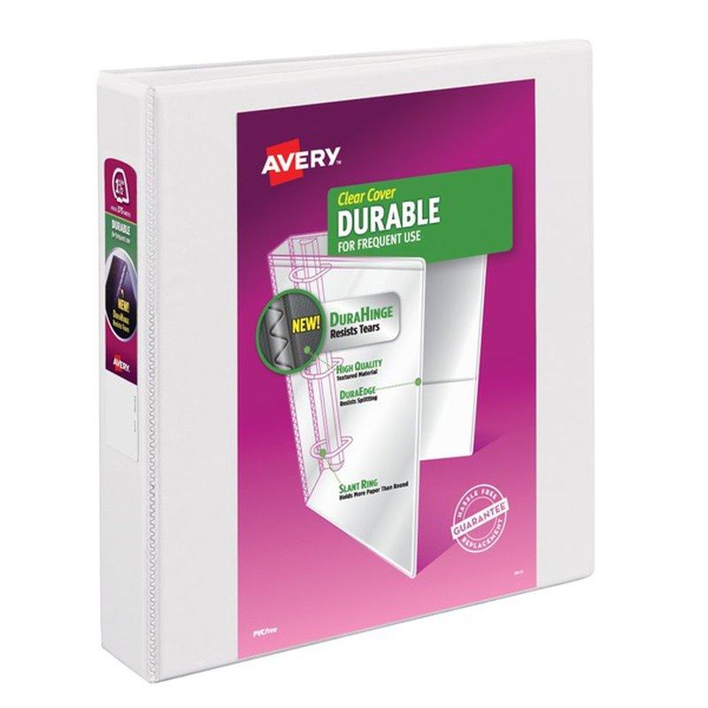 Avery Binder, Durable, EZ-Turn Ring,1-1/2 Inch