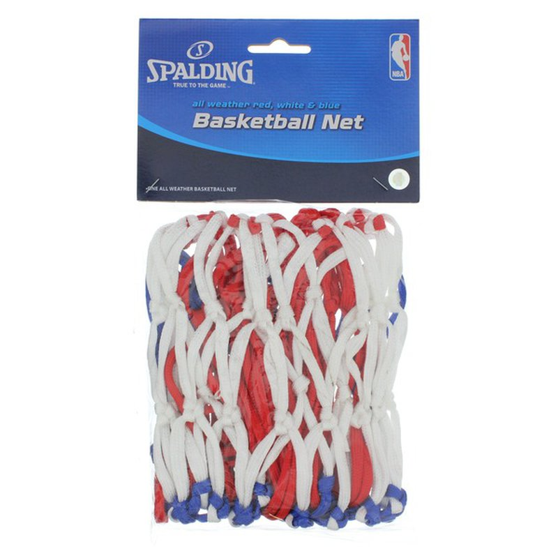Spalding All Weather Red White & Blue Basketball Net