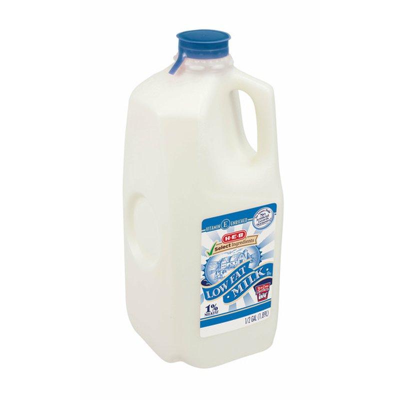 H-E-B 1% Low Fat Milk