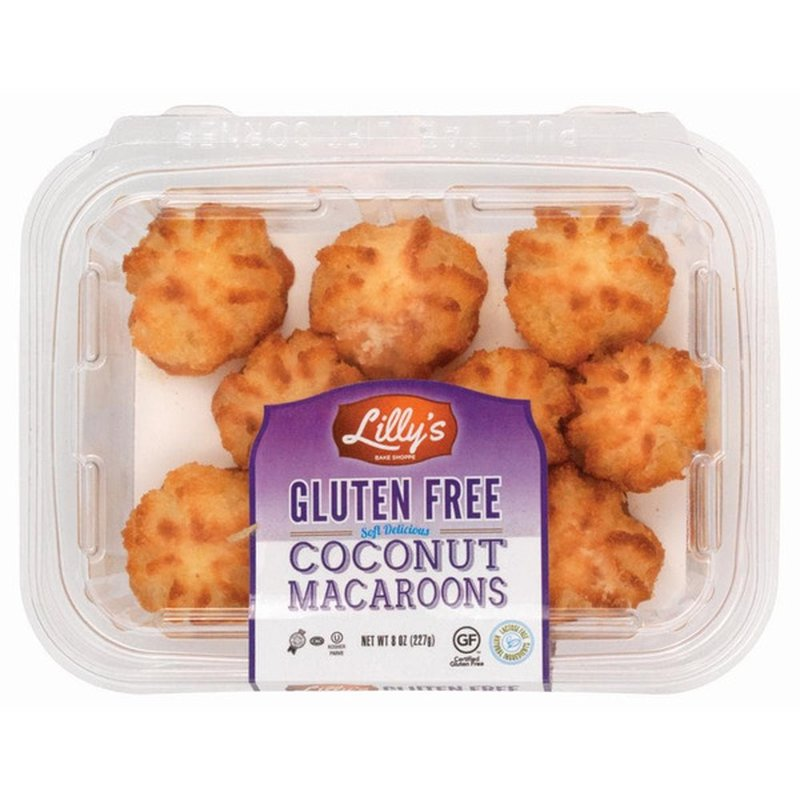 Lilly's Gluten-Free Coconut Macaroon Cookie