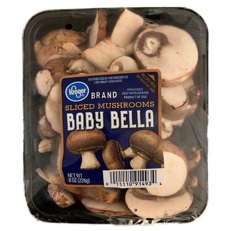 Kroger Fresh Selections Baby Bella Sliced Mushrooms