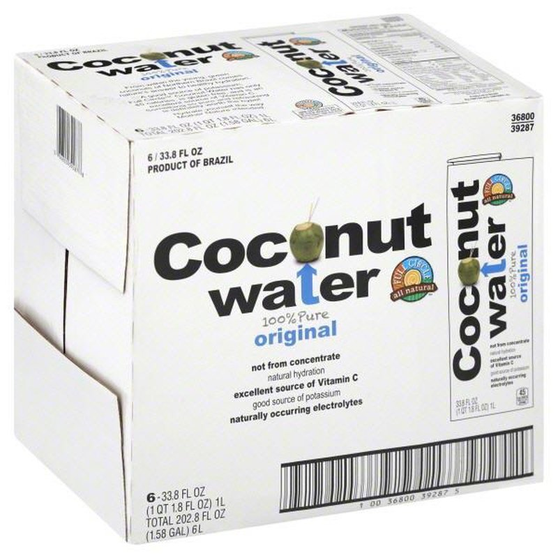 Full Circle 100% Pure Coconut Water