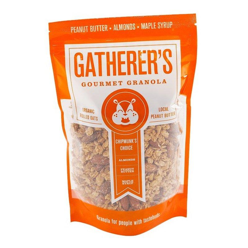 Gatherer's Gourmet Granola Organic Rolled Oats