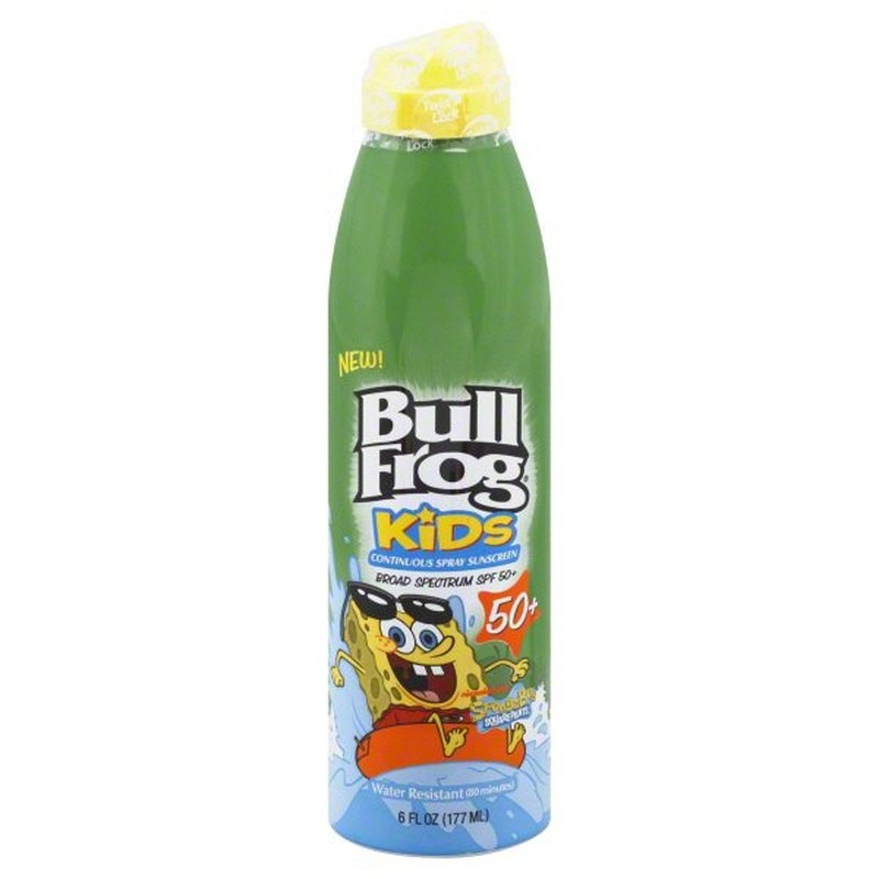 Bull Frog Kids Continuous Spray Spf 50 Sunblock