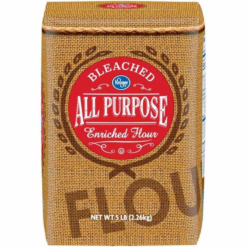 Kroger Bleached All Purpose Enriched Flour