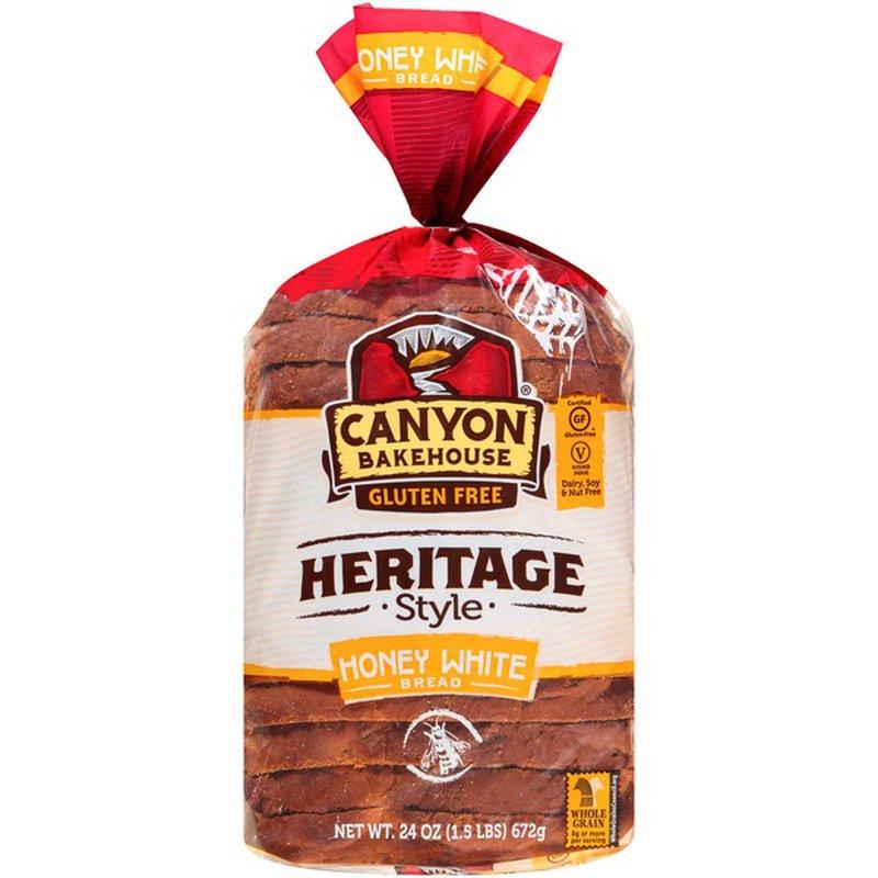 Canyon Bakehouse Gluten Free Heritage Style Honey White ...